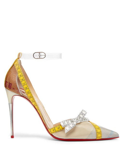 info for 91db3 fb3b2 Metripump 100 Tape-Trimmed Patent-Leather And Pvc Pumps in White