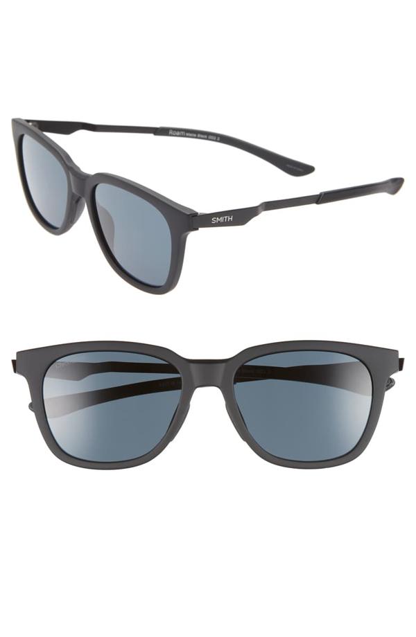 Smith Roam 53mm Chromapop(tm) Sunglasses In Matte Black