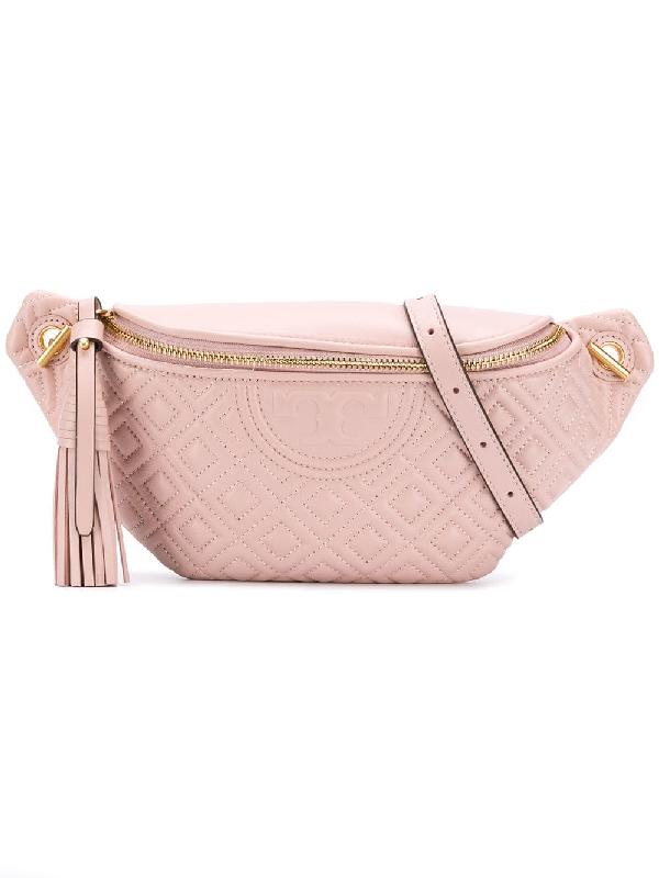 32c259e37c Tory Burch Fleming Belt Bag - Pink | ModeSens
