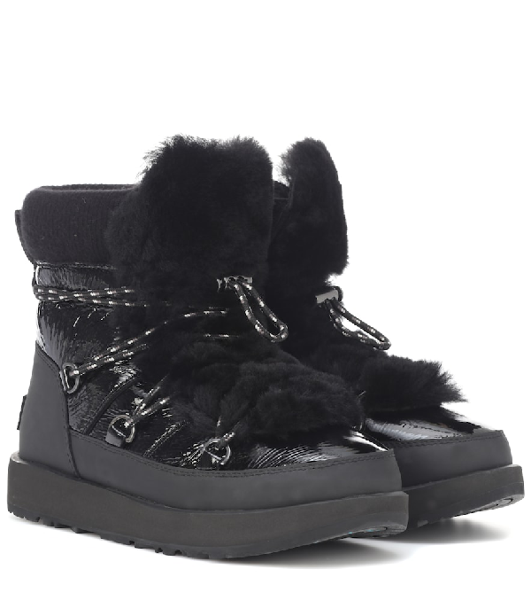 e90323ba013 Highland Waterproof Ankle Boots in Black