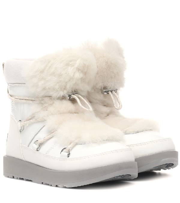 5435a9b6145 Highland Waterproof Ankle Boots in White