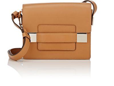 Delvaux Madame Mini Leather Shoulder Bag In Vegetal