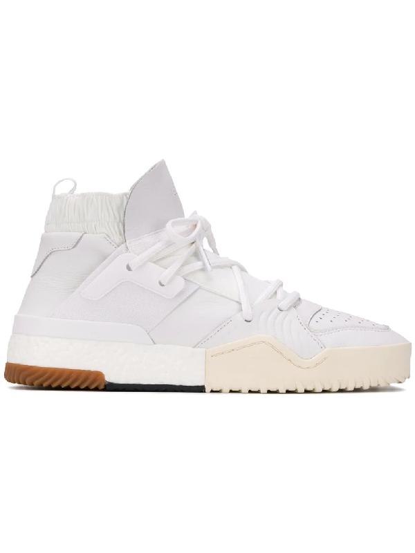 reputable site 9e3a1 a3fc7 Adidas Originals By Alexander Wang Adidas By Alexander Wang Basketball  Sneaker In White