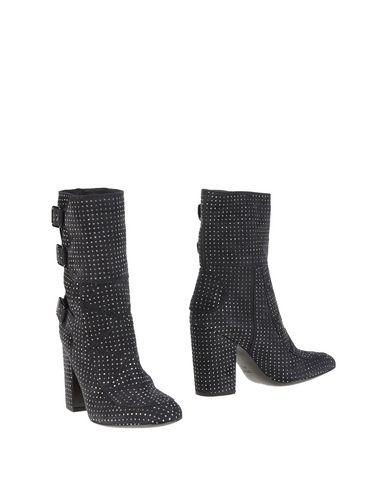 Laurence Dacade Ankle Boots In Steel Grey