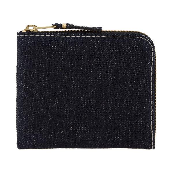Comme Des GarÇOns Comme Des Garcons Sa3100De Wallet In Blue