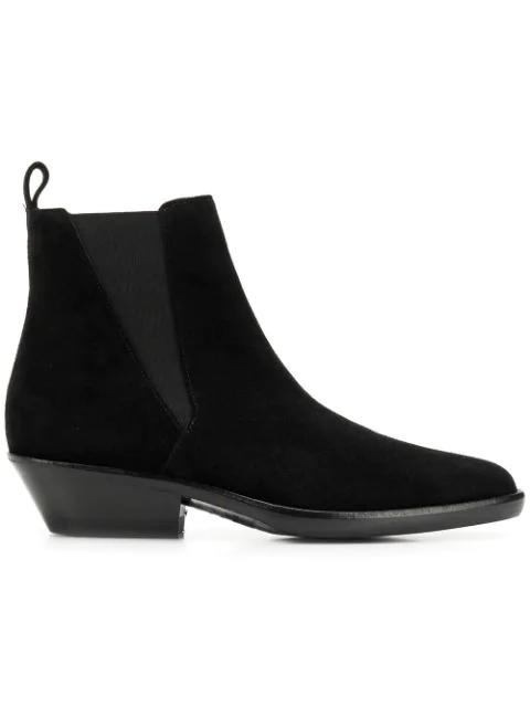Isabel Marant Drenky 50 Black Suede Ankle Boots
