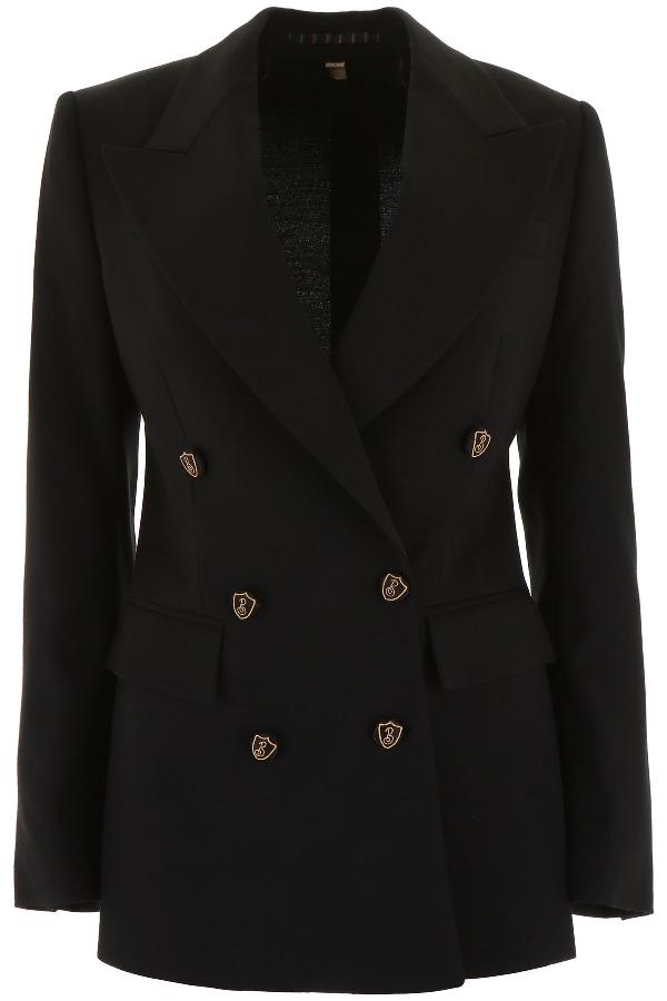 Burberry Patterdale Blazer In Black (Black)