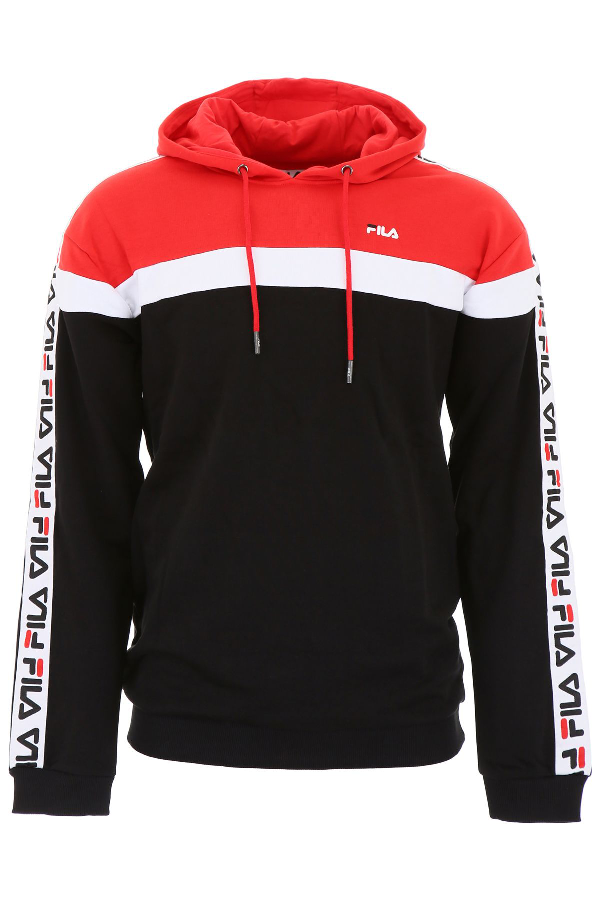 a2215ec9 Logo Hoodie in True Red Bright White Black