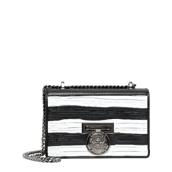Balmain Bbox 20 Black And White Bag In Black/White