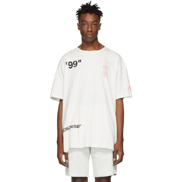 36f9dccc Off-White Oversized Boat T-Shirt In Cream In White | ModeSens