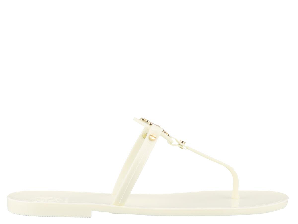 2d498a91833 Tory Burch Mini Miller Flat Thong Sandals In Ivory