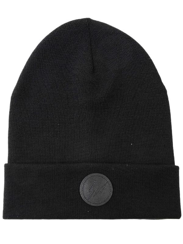 58185c299d84a Moncler Genius 7 Moncler Fragment Hiroshi Fujiwara Tricot Hat In Black