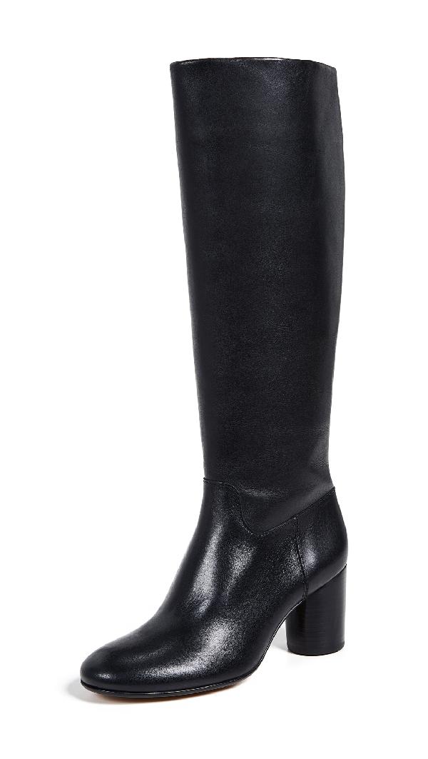 0be56b480eef Madewell The Scarlet Knee High Boot In True Black