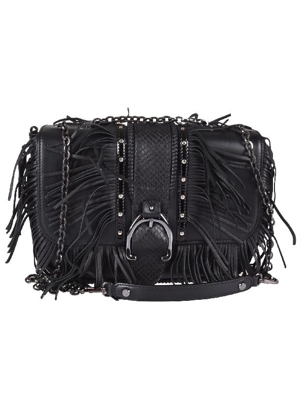 Amazone Rock Hobo Bag S In Nero