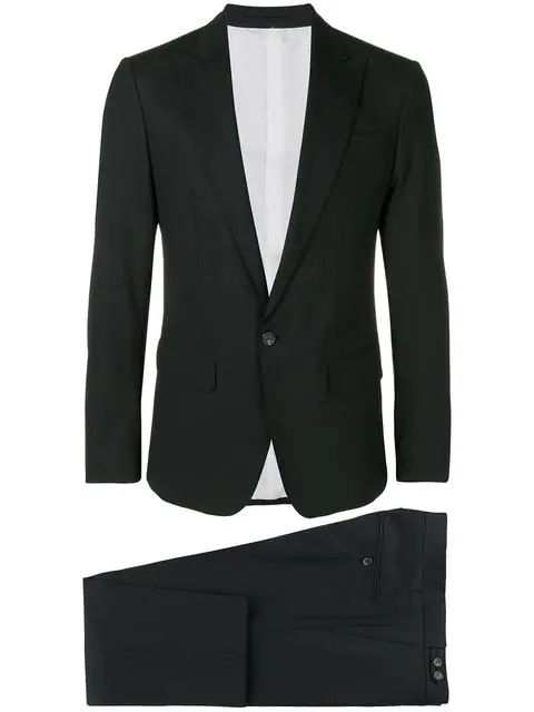 Dsquared2 Two-Piece Formal Suit In Black
