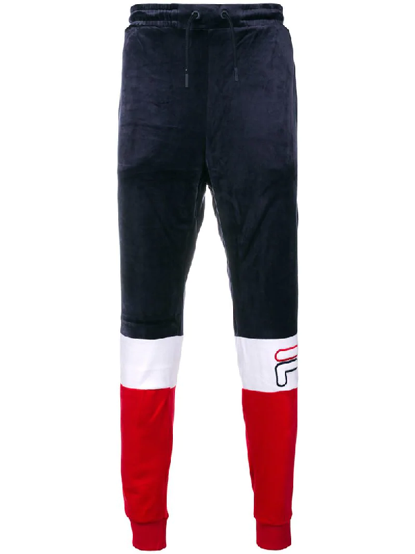 599d62e27cc5 Fila Multicolor Fabric Pants In Blue | ModeSens