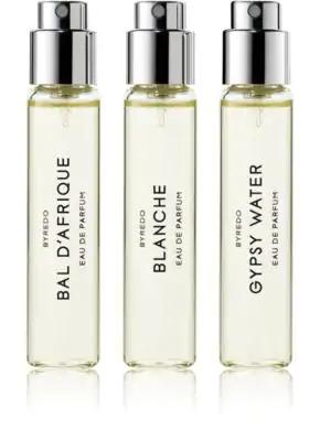 Byredo La SÉLection Best-Sellers - Bal D'Afrique, Blanche, & Gypsy Water, 3 X 12 Ml