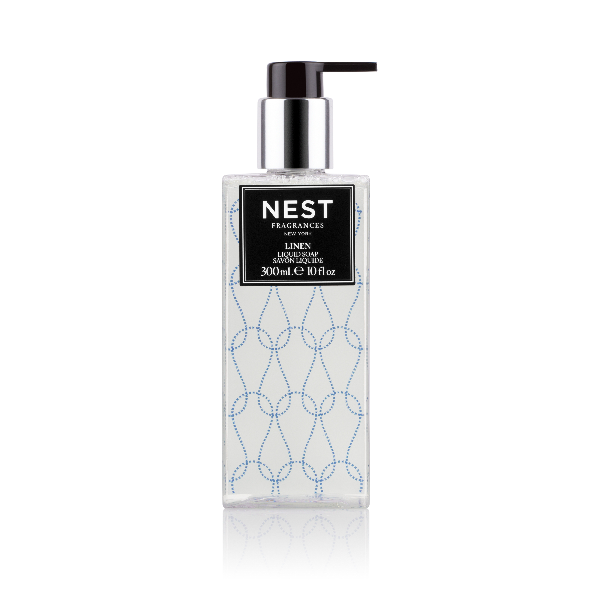 Nest Fragrances Linen Liquid Soap, 10 Fl. Oz. / 300 Ml