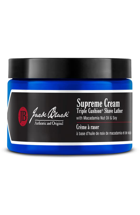Jack Black Supreme Cream Triple Cushion Shave Lather, 9.5 Oz.