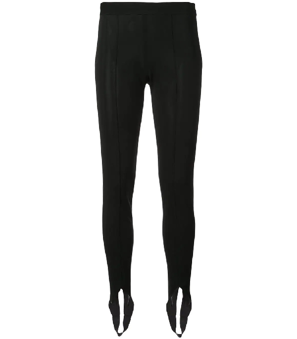 7ef288c06123b Givenchy Mid-Rise Pull-On Stirrup Leggings In Black | ModeSens