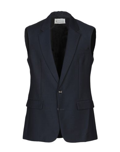 Maison Margiela Suit Vest In Dark Blue
