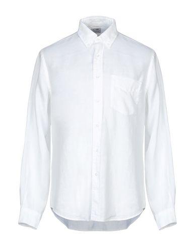Aspesi Mandarin Collar Shirt In White