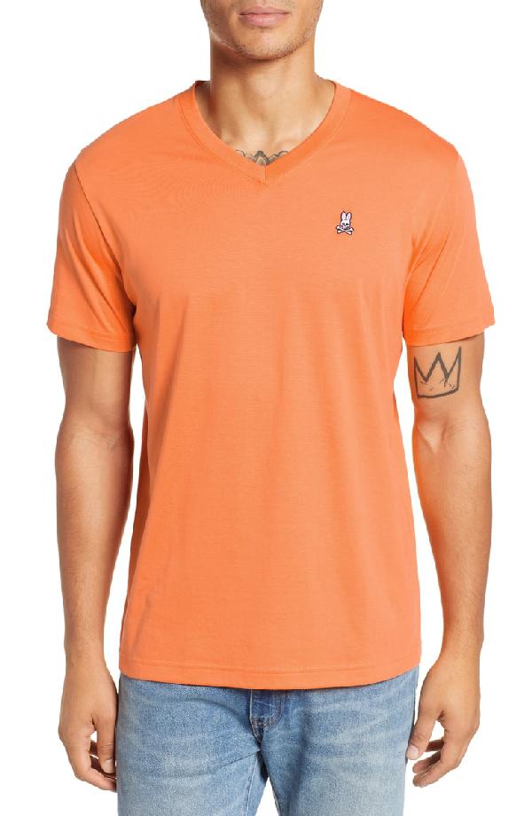 28c439b87 Psycho Bunny V-Neck Slim Fit T-Shirt In Paradise   ModeSens