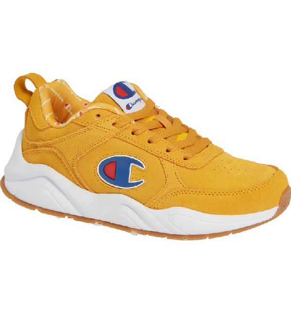 bcf21912b5f Champion 93 Eighteen Sneaker In C Gold