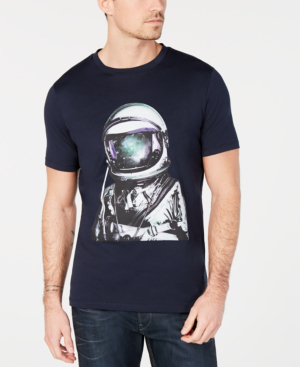 1ba32fb0e Hugo Boss Hugo Men's Astronaut Graphic T-Shirt In Dark Blue | ModeSens
