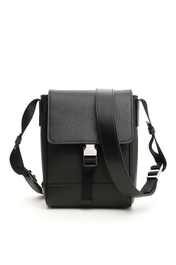 98c9abed6e21 Prada Small Crossbody Bag In Nero
