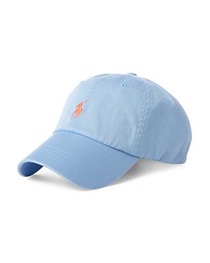 Polo Ralph Lauren Embroidered Logo Baseball Cap In Blue