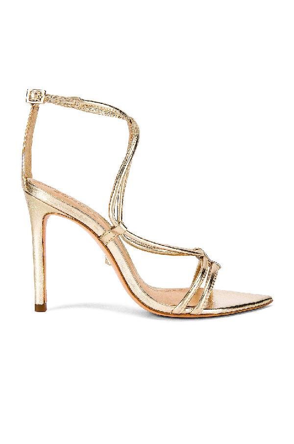 Schutz Women's Evellyn Strappy High-heel Sandals In Platina