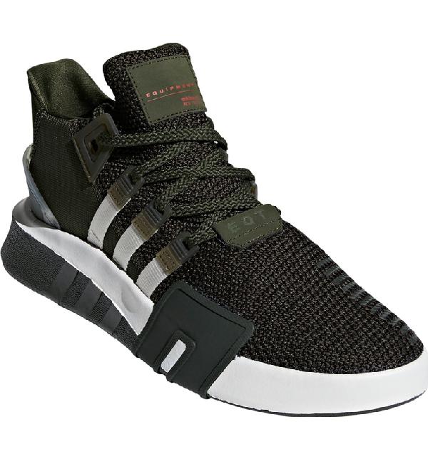d5e2df84371 Adidas Originals Eqt Basketball Adv Sneaker In Night Cargo   Chalk ...