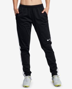 Nike Academy Dri-fit Soccer Pants In Black/white