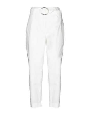 True Royal Casual Pants In White