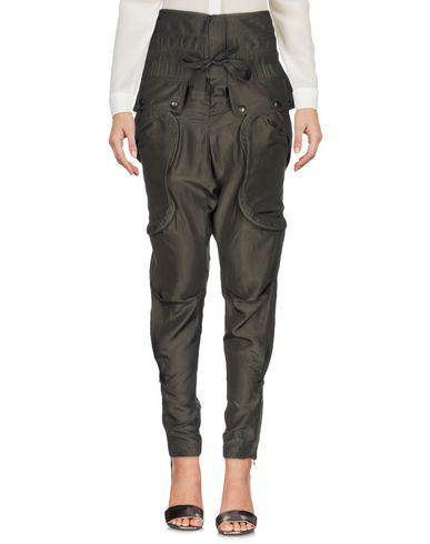 Faith Connexion Casual Pants In Military Green