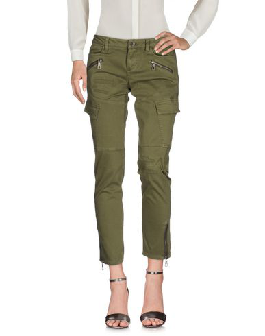 Guess Casual Pants In Military Green