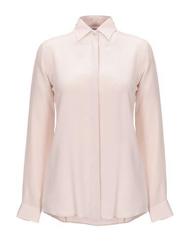 Caliban Silk Shirts & Blouses In Dove Grey
