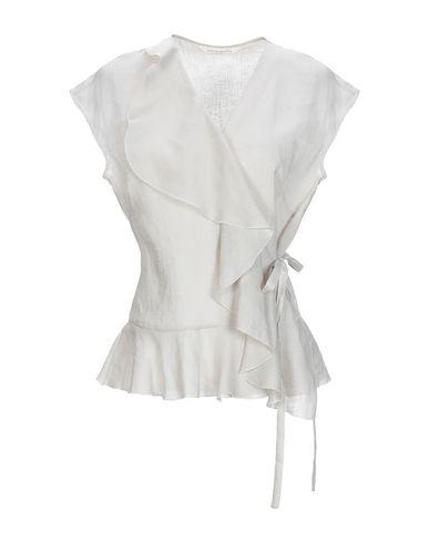 Guglielminotti Linen Shirt In Light Grey