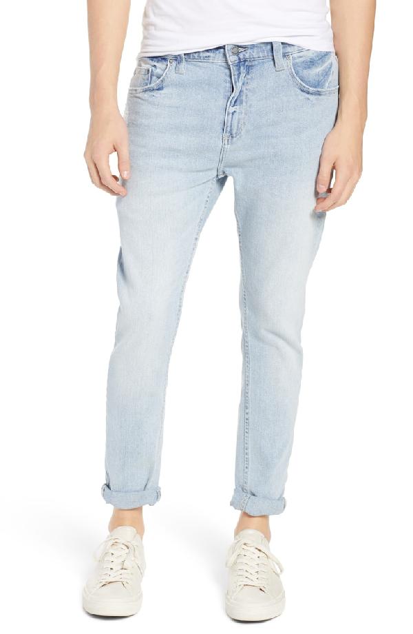 Rolla's Rollies Slim Fit Jeans In Wategos Blue