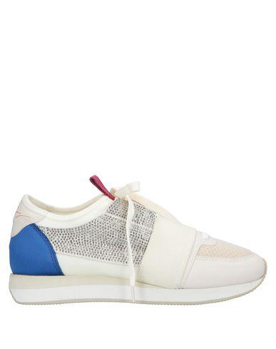 Lola Cruz Sneakers In Ivory