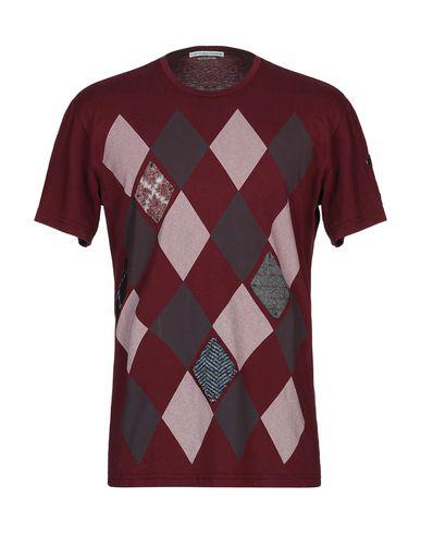 Daniele Alessandrini T-shirts In Maroon