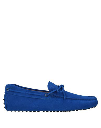Tod's Loafers In Bright Blue