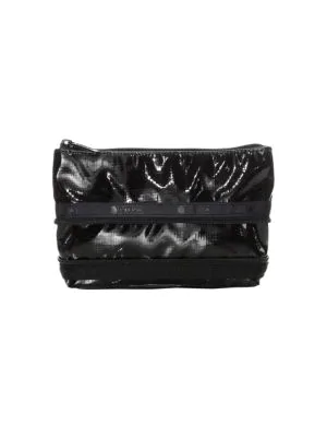 Lesportsac Small Collette Expandable Cosmetic Case In Black