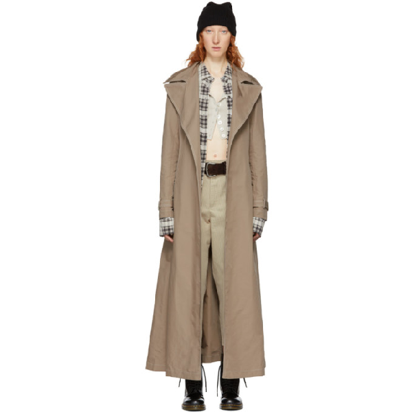 Marc Jacobs Redux Grunge Trench Coat In 265 Tan