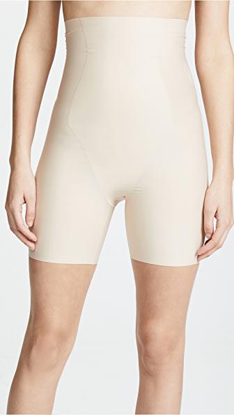 Yummie Women's Hidden Curves High-waist Thigh Shaper In Frappe