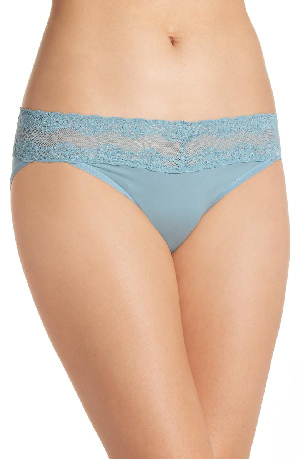 Natori Bliss Perfection Bikini In Smoke Blue