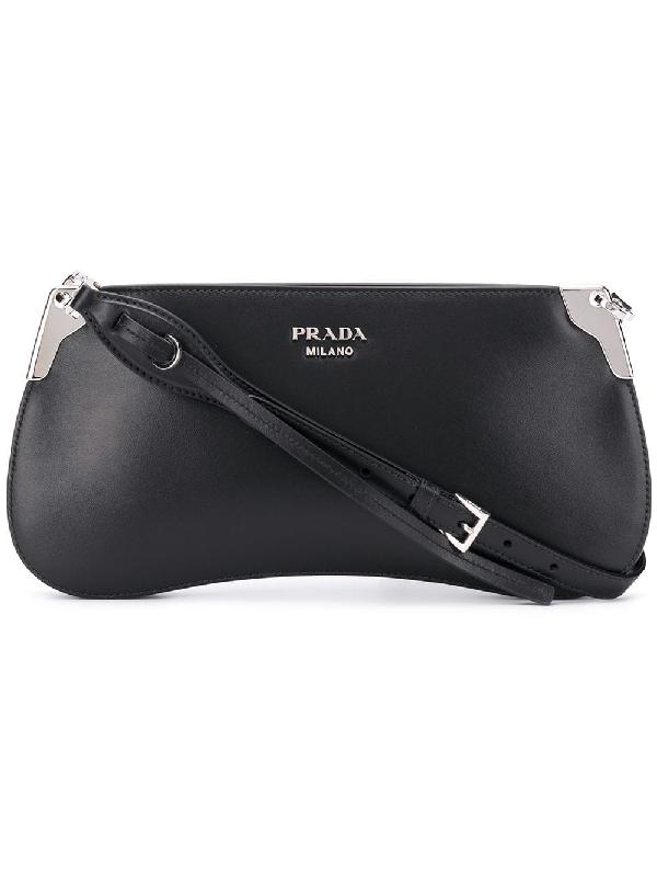 Prada Sidonie Shoulder Bag In Black