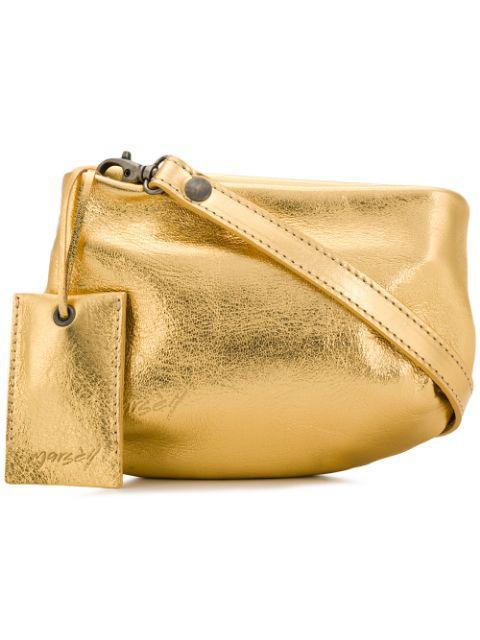 MarsÈll Fantasmino Crossbody Bag In Gold