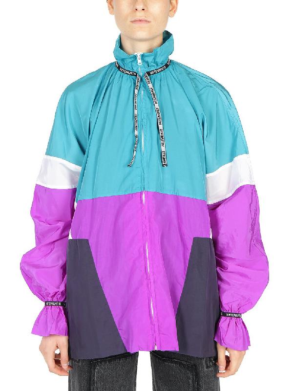 Vetements Colour Block Tracksuit Jacket In Multi